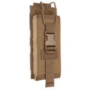 TAC SHIELD MBITR Radio Molle Pouch, Coyote