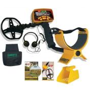 ACE 350 METAL DETECTOR BEACH HUNTER PKG BY GARRETT W/HEADPHONES, DVD