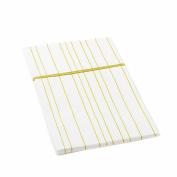 Auggie Standard Pillow Case in Painted Stripe Fern
