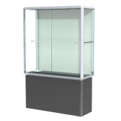 Prominence Spotlight Series Tower Display Case Frame Finish