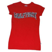 North Carolina State Wolfpack Cotton Exchange Red Womens Translucent T-Shirt