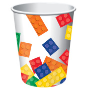 Building Block Party 270ml Paper Cups