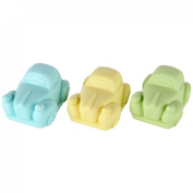 Lily's Home Shea Butter Enriched Scented Guest Soap Gift Set - Includes Three Beetle Car shaped Soap Bars