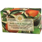 Australian Soapworks Wavertree & London 200g Soap - Basil Lime & Mandarin