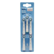 Walgreens EasyFlex Floss Effects Replacement Brush Heads Identifier Colour Rings 5 ea - 2 Pack