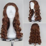 Miss U Hair Alice Wig Women Girl Long Brown Curly Movie Cosplay Wig