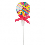 Diane Fromm Ponytail Lollipops - Each lollipop comes with 18 Flat Ponytails in six colours.
