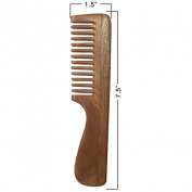 Universal Resource Handcrafted Neem Wood Comb 18cm - Anti Dandruff, Non-Static and Eco-friendly- Great for Scalp and Hair health