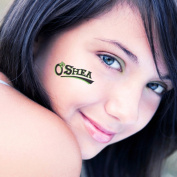SweetTats Irish O'Name Wrist Temporary Tattoo Pack - 6 Tattoos per Pack