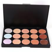 Professional Concealer Palette 15 Colour Concealer Facial Face Cream Care Camouflage Makeup Base Palettes Cosmetic