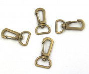 20 Copper Loster Snap Claw Swivel Trigger Clasp Clip Keyring Hook Diy 38x15mm Bag Button