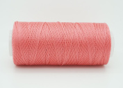 CORAL 0.6mm 100% Nylon Twisted Cord Thread Micro Macrame Beading Knitting Crochet Needle Crafts