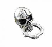 Cool Skull Screw-Eye of Steel Wallet Purse Chain Connector Biker Rock Leather Craft