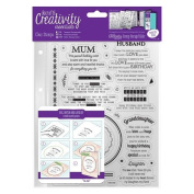 Verses - Creativity Essentials A5 Clear Stamps