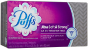 Puffs Ultra Soft & Strong Facial Tissues - 124 ct - 6 pk