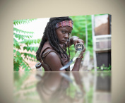 THE WALKING DEAD Michonne CANVAS PRINT Wall Art Decor Giclee *4 Sizes* CA118, Large