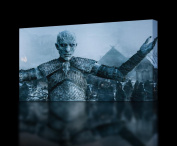 GAME OF THRONES White Walkers CANVAS PRINT Wall Art Decor Giclee *4 Sizes* CA128, Large