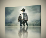THE WALKING DEAD Rick CANVAS PRINT Wall Art Decor Giclee Zombies *4 Sizes* CA123, Large