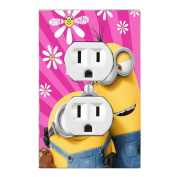 Got You Covered Minion Girls Way 2 Cute Matching Light Switch Covers or Outlet Covers