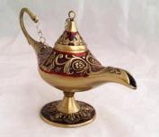 New Collectable Rare Legend Aladdin Magic Genie Light Lamp Pot Classic Gold