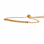 Sterling Silver .925 CZ Bar Bracelet, Adjustable Size Slider Bracelet Jewellery - Gift Boxed