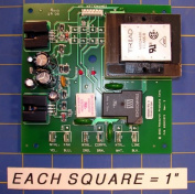 Aprilaire 4517 Power Supply Board