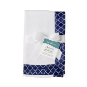 BreathableBaby Deluxe Modal Knit Baby Blanket, Navy