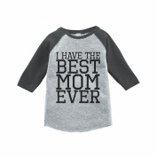 Custom Party Shop Boy's Mother's Day Vintage Baseball Tee