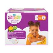 BABY nappies PREMIUM SIZE 4, 74 CT