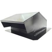 "BUILDERS BEST 012634 Black Metal Roof Vent Cap (15cm ""-20cm "" (8.3cm "" x 25cm "") Universal Flush) Home, garden & living"