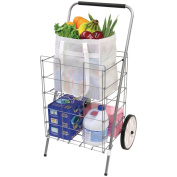 HELPING HAND FQ3915D 2-Wheel Folding Cart with Folding Shelf Home, garden & living