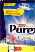 PUREX LAUNDRY DETERGENT POWDER WITH CRYSTALS FRESH SPRING WATERS 12 LOADS 650ml