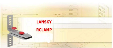 Lansky Rubber-Jaw Multi Angle Knife clamp RCLAMP
