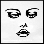 15cm x 15cm Mystique Stencil by Andrea Matus deMeng