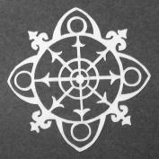 10cm x 10cm Ornamental Compass Mask Stencil by Gwen Lafleur