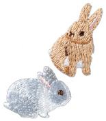 Hamanaka Coucou (cooing) emblem rabbit H457-879