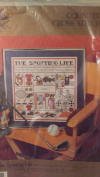 """Counted Cross Stitch :The Sporting Life"""""""