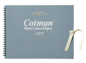 Windsor & Newton Cotman watercolour paper sketch book details (Smooth) F0