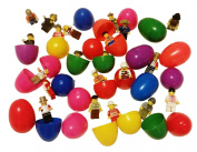 20 Easter eggs filled with mini toy figures toys set