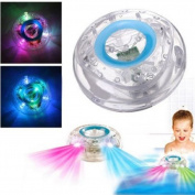 E Support™ Romantic 7 LED Colour Changing Bathroom LED light for Children Waterproof Toy Party in the Tub light
