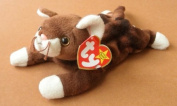Brown/White Cat Stuffed Animal Plush Toy by Unknown