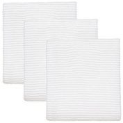 Turkish Cotton Ripple Kitchen Towel (Set of 3) Colour