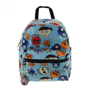 Little Kids Lightweight Canvas School Bag Girls Mini Casual Daypack Backpack