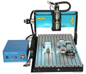 4 Axis CNC Router 6040z 2200w Spindle Water-cooling Metal Engraving Carving Machine