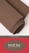 Kraft Tex Paper Fabric Chocolate 48cm X 1.5Yd