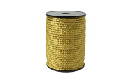"""Twisted Cord 68/3 (1/4"""" - 5MM) - Roman Gold"""