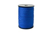 """Twisted Cord 68/3 (1/4"""" - 5MM) - Royal"""