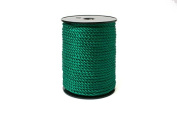 """Twisted Cord 68/3 (1/4"""" - 5MM) - Dk Green"""