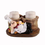 Home Decorative Resin Kitchen Chef Cook Figurine Statue Figure for Bakery Cafe Restaurant