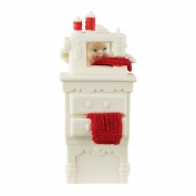 Snowbabies Department 56 Classics Stocking Cap Maker Figurine, 15cm